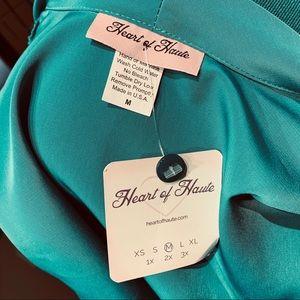 Heart of Haute Tops - Heart of Haute Jade Estelle Blouse